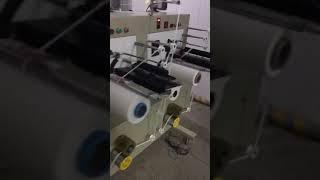 10 inch height 3 mm 5mm Soft face mask earloop spool winder machine video hitech3 hitechrope com