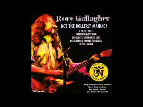 Rory Gallagher - Tokyo, Japan 1977 (Full Concert)