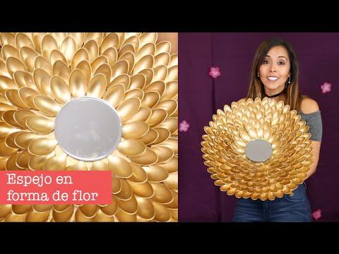 Hazlo tu mismo espejo con cucharas de pl stico princesas del rey canal youtube - Espejo de plastico ...
