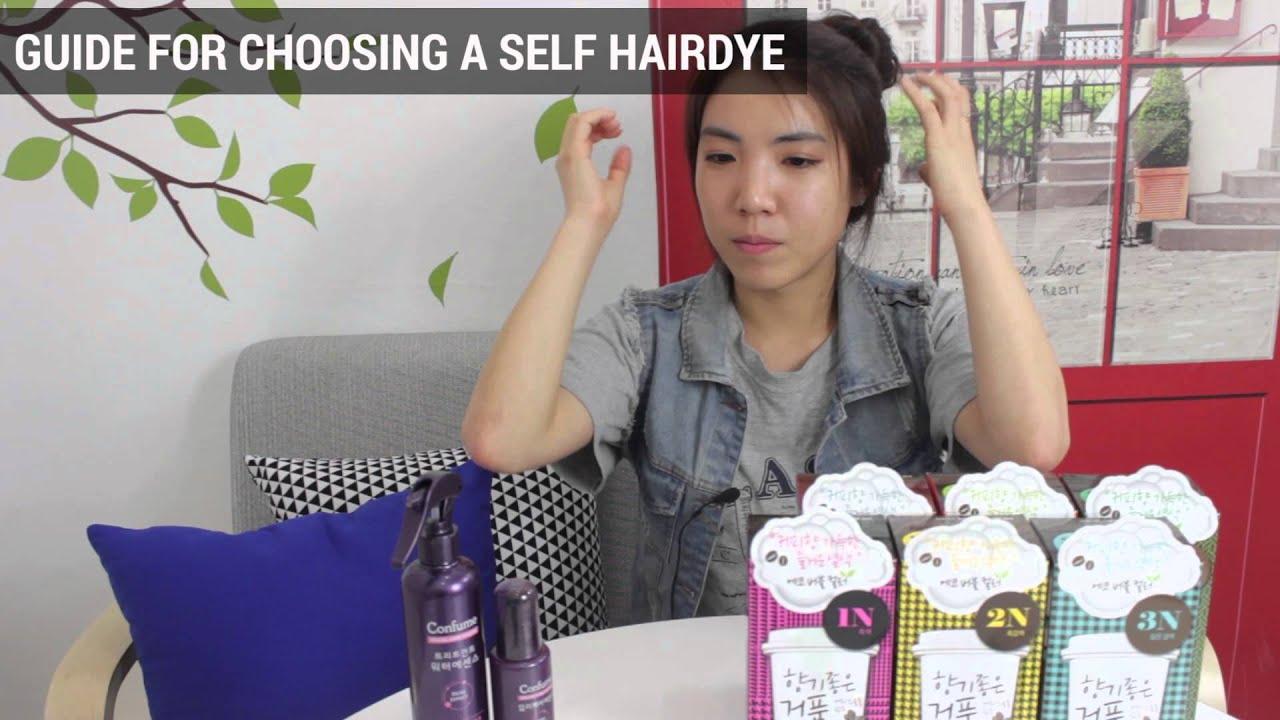 Korean Hair Dye Trend & Self Hair Dying Tips | Wishtrend - YouTube