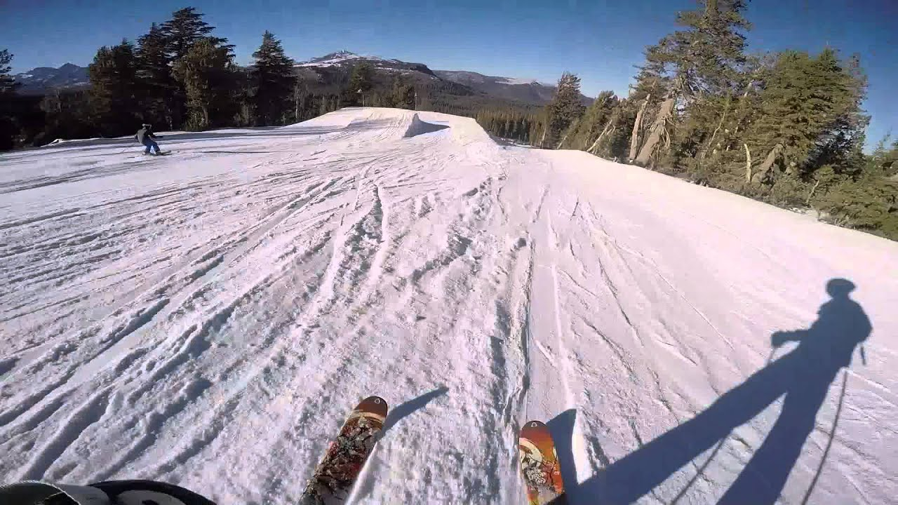 84b15a165bc Mammoth Mountain Terrain Park Session - YouTube