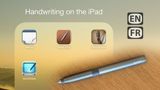 Handwriting on the iPad