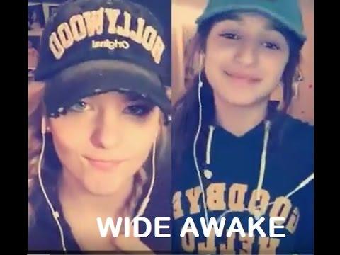 Katy Perry - Wide Awake - smule duet Sarah Cleary & Julie Bella