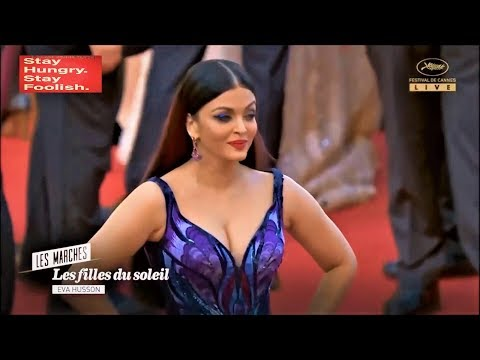 Aishwarya Rai At The Cannes Film Festival 2018 Red Carpet Day 1