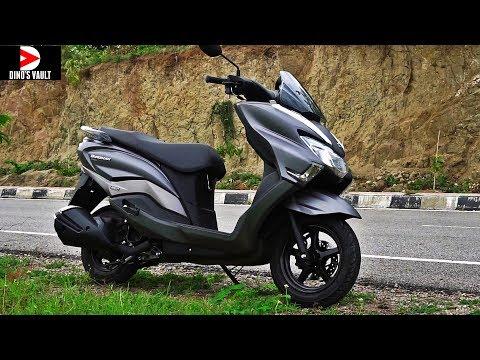 Suzuki Burgman Street 125 First Ride Review #ScooterFest