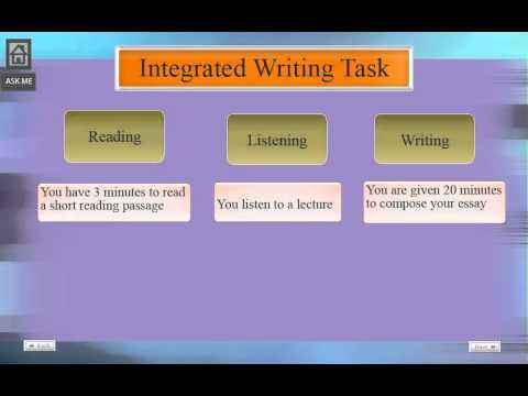 Toefl integrated writing practice test