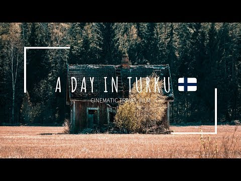 TURKU, Finland | Cinematic travel film | Sony A6000 + 18-105mm