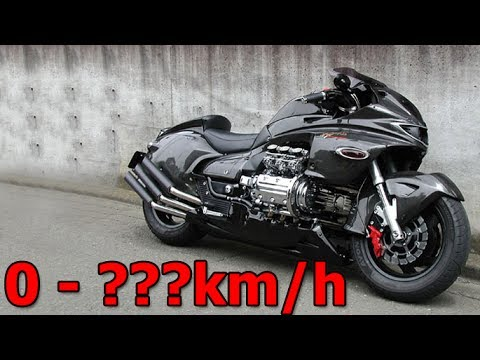 Honda NRX1800 Valkyrie Rune - Walkaround & Acceleration & Startup & Exhaust Sound & Burnout ...
