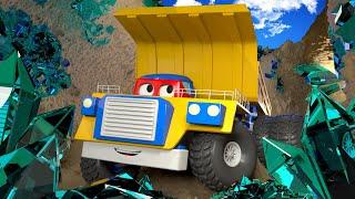วิดิโอรถบรรทุกสำหรับเด็ก - รถบรรทุกเหมืองแร่  🚚 คาร์ซิตี้ - การ์ตูนรถบรรทุกสำหรับเด็ก Truck for Kids