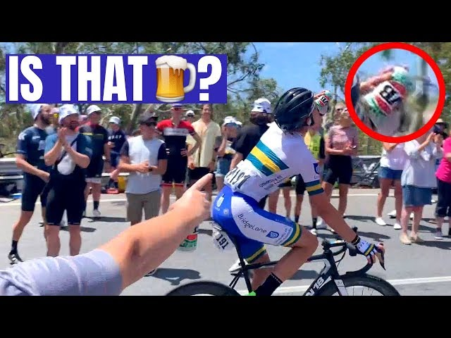 The Aussie Moment that Rocked Willunga Hill (Stage 6, Santos Tour Down Under)