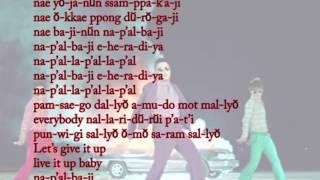 Napal Baji - PSY lyric video