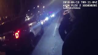 Police Arrest Young Drunk Jerk