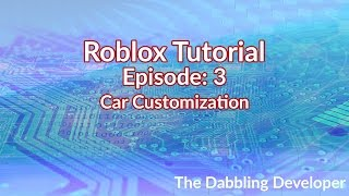 Como fazer blocos ficar juntos em Roblox//personalização do carro