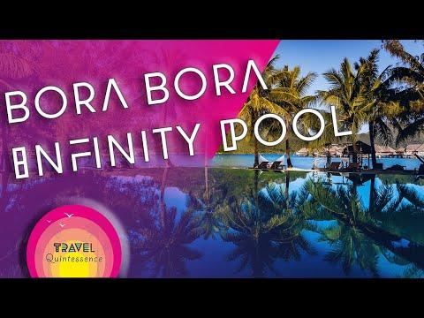 InterContinental Bora Bora Resort Infinity Pool - French Polynesia