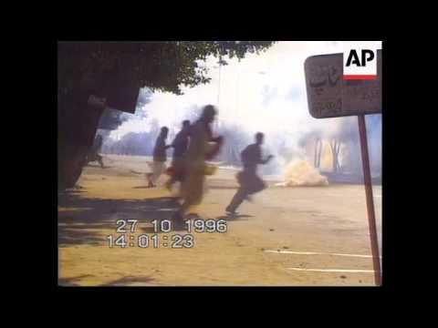 Pakistan-Islamic fundamentalists and police clash