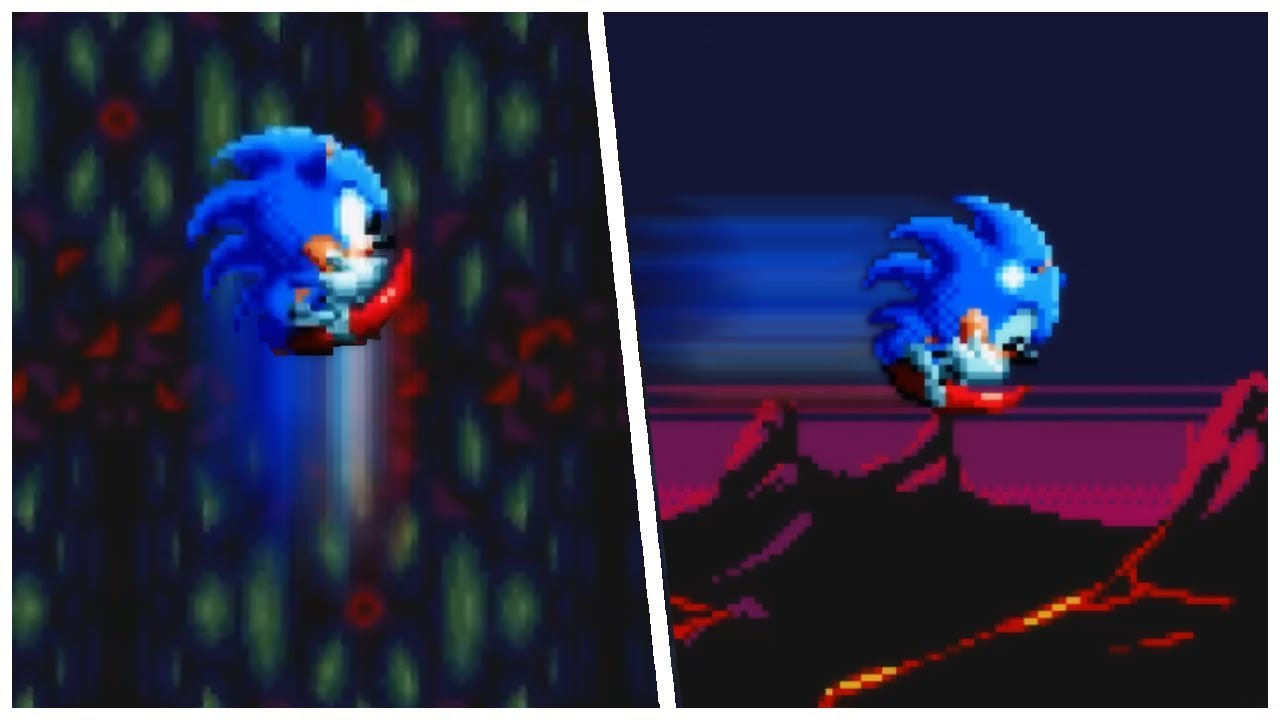 Sonic Mania ✪ 2 New Abilities (Max Control Plus) Mod