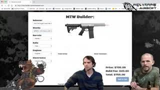 #LiveFromTheDen: MTW Gun Builder - Clip from 1/31/19