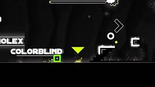 Geometry dash colour blind complete with coin