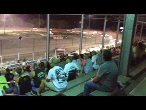 Colin Heim IMCA Stock Car Lincoln County Speedway Wild West Shootout 6 21 16