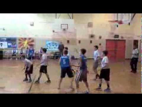 78th Precinct Youth Council Basketball Juniors Team 5 Vs 7 1 26 2014