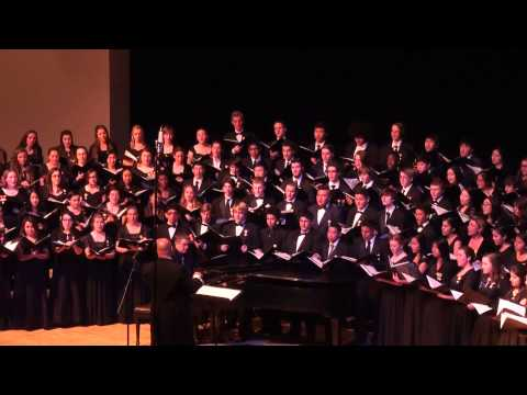 It's a Grand Night for Singing - 2015 CMEA Central Coast Section (CCS) High School Honor Choir
