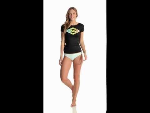 O/'Neill Women/'s 365 Hybrid Eclipse Zip Rashguard Beachwear
