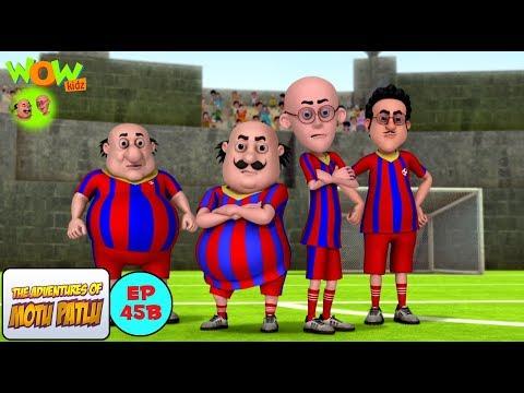 Football Match - Motu Patlu in Hindi - NEPALI SUBTITLES - 3D Animation Cartoon for Kids thumbnail