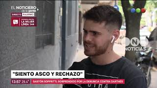 Gastón Soffritti sobre la denuncia contra Darthés - El noticiero de la gente