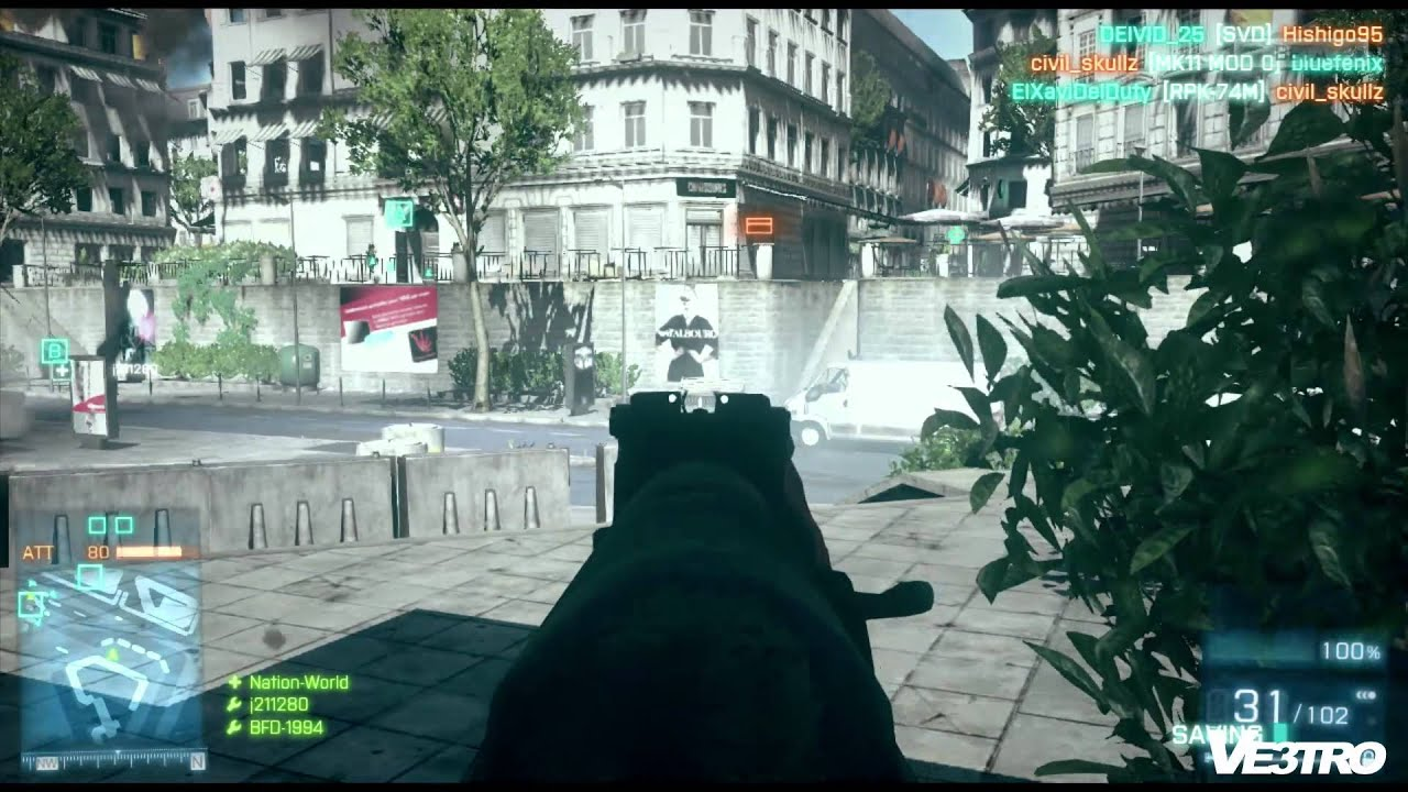 Battlefield 3 Gameplay PS3 (HD 1080p) - YouTube