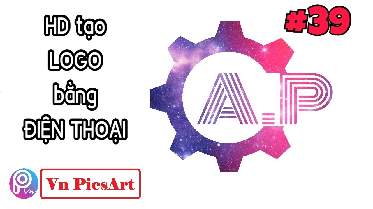 【 PicsArt 】Hướng dẫn tạo LOGO theo tên bằng điện thoại | PicsArt Editing ❤️