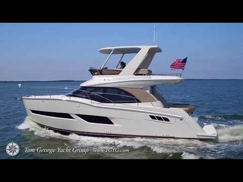 Tom George Yacht Group Carver C40 Command Bridge