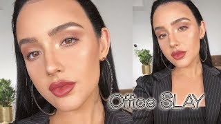 Everyday Work/Office Makeup Tutorial: No False Lashes!