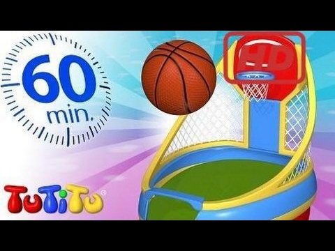 School for Kids | TuTiTu Specials | Basketball | Other Popular Toys For Children | 1 HOUR Special