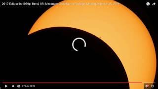 2017 Eclipse: Nasa Propaganda: ISS eclipse transit Hoax