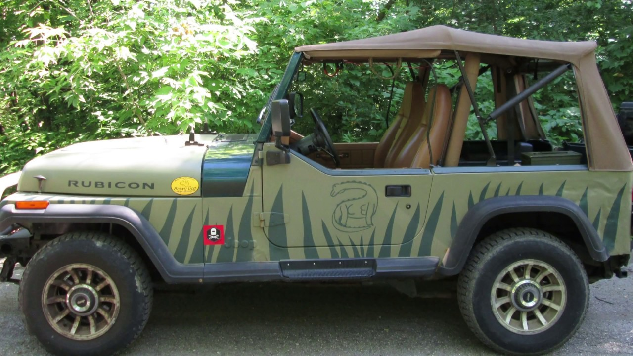 diy jeep yj roof rack overview youtube