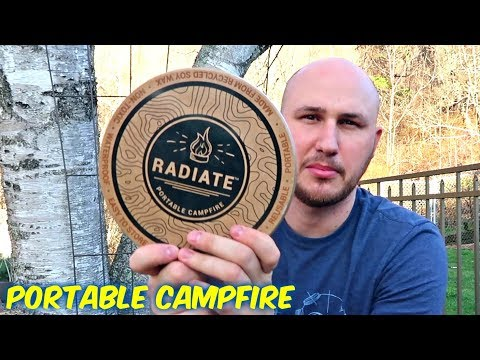 Portable Campfire in a Can