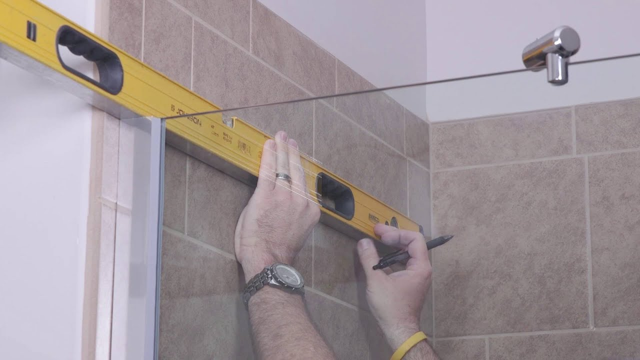 diy shower door installation how to cantour series by basco frameless shower enclosure