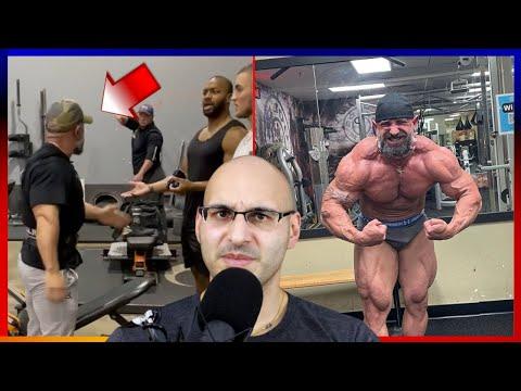 'Roid Rage' Bodybuilder
