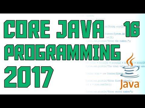 Java Programming 2017 Using Methods with Parameters #16