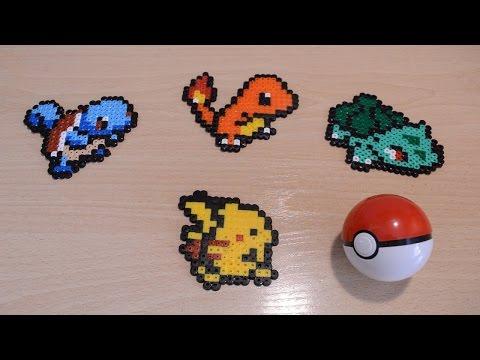 Los 4 pokémon iniciales: Bulbasaur, Charmander, Squirtle y
