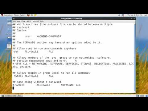 How To Create Sudo User For Red Hat Linux