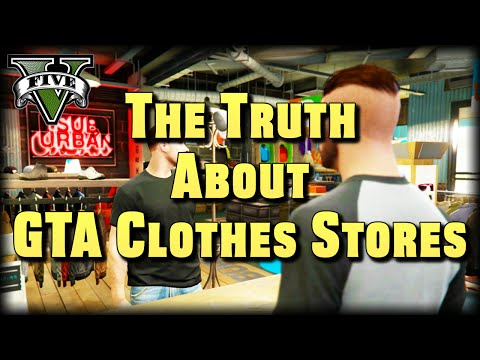 The Truth About GTA Clothes Stores : GTA V Machinima