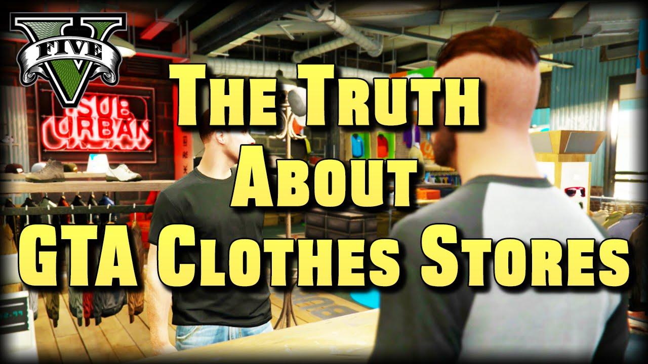 Gta 4 clothes stores