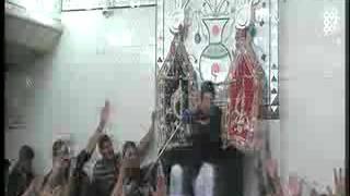 Allama Zamer Akhtar Naqvi  2nd moharam4   Imam Bargah Chaharda Masoomeen Ancholi, Karachi, Pakistan