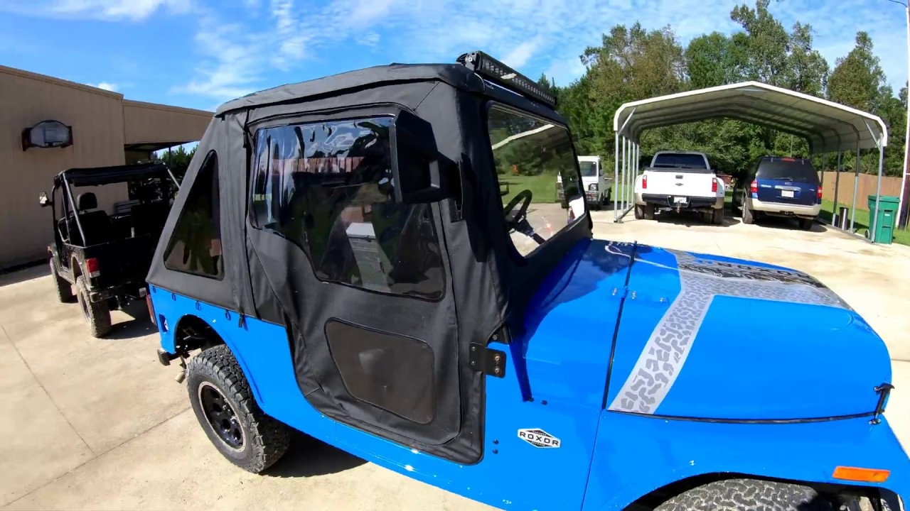 mahindra roxor hitch and soft top review