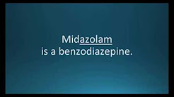 How to pronounce midazolam (Versed) (Memorizing Pharmacology Flashcard)