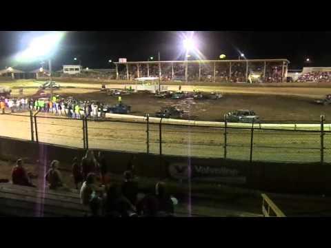 Belle-Clair Speedway Demolition Derby