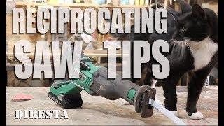DiResta Reciprocating saw Tips