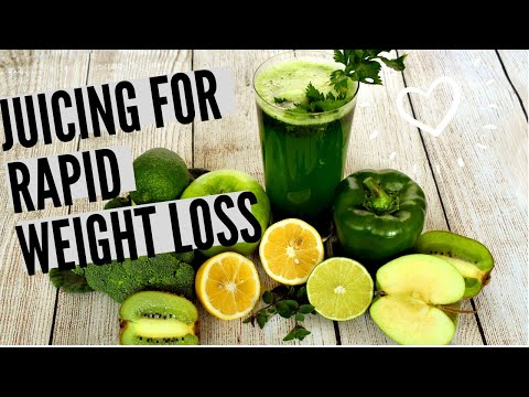 The Secret of Juicing: Rapid Weight Loss