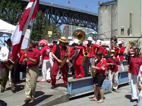 Canada Day Parade On Granville Island